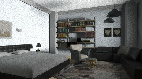 Mineral Haze BR - Modern - Bedroom - by Menna Ibrahim