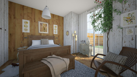 Romance - Vintage - Bedroom - by Sali15