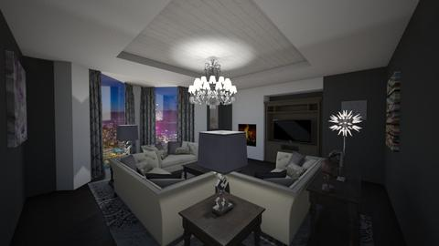 Shades of Grey - Living room - by mattpop34
