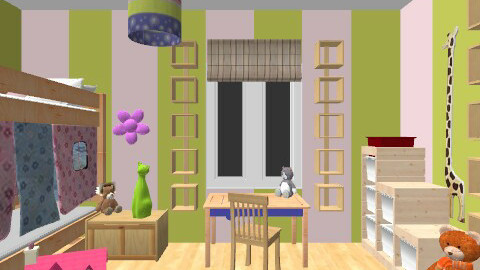 For Alicia - Eclectic - Kids room - by camidome