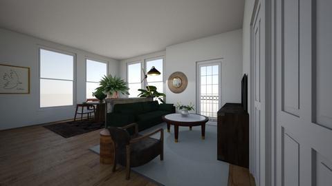 boston - Living room - by naumankm