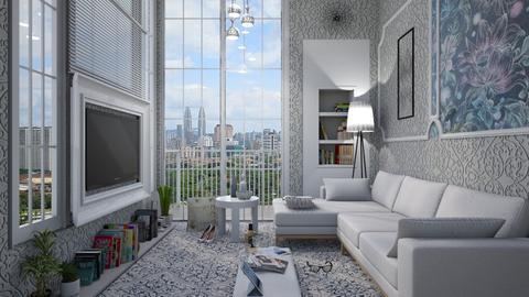 M_Single girl - Living room - by milyca8