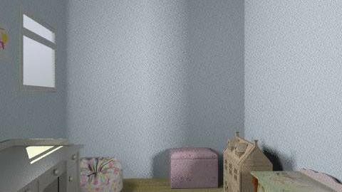 girls room - Classic - Kids room - by Katie Gangloff