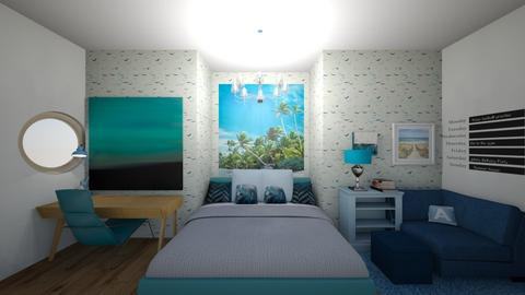 Beach - Bedroom - by RoomStylerForAnyone
