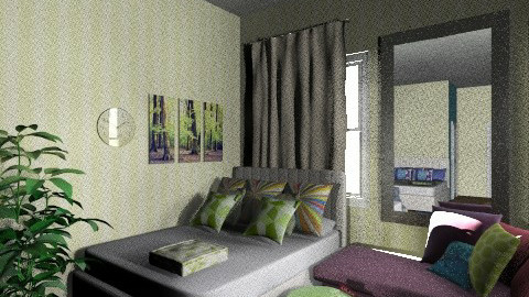 We - Vintage - Bedroom - by KarolinaZ