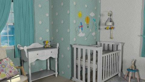 Nursery - Classic - Kids room - by monikica