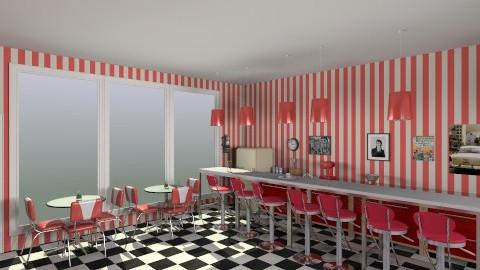 50s Diner - Retro - Kitchen - by HGranger2