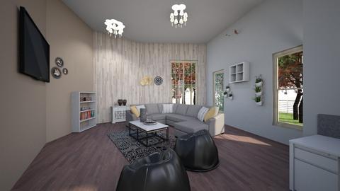auzzie - Living room - by aliisha asuao_950
