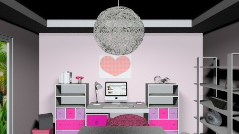 Pink office - Feminine - Office - by naat29
