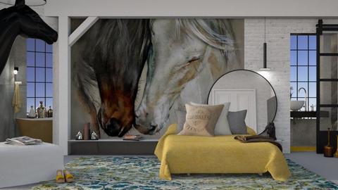Love Horses - by Mum Dali