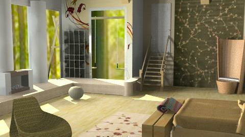Rustic Bedroom. - Rustic - Bedroom - by Interiors by Elaine
