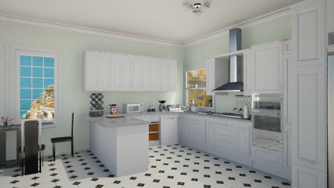 109 - Classic - Kitchen - by GALE88