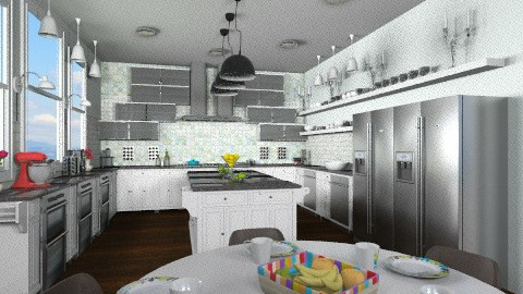 Contemporary Kitchen - Classic - Kitchen - by BriaFaith
