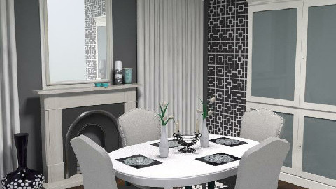 Fine Dining2 - Glamour - Dining room - by jenshadow_222