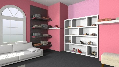 second closet area  - Glamour - by hello kitty lover 23