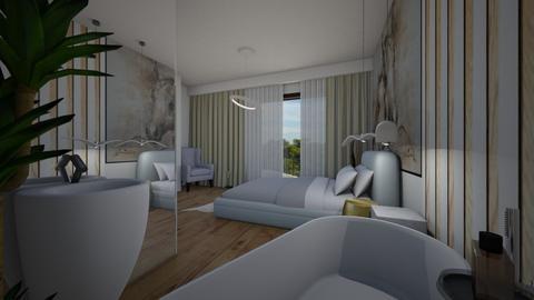 open bedroom  - by cosettevis