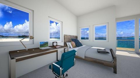 Bedroom Office - by hjlakin1733