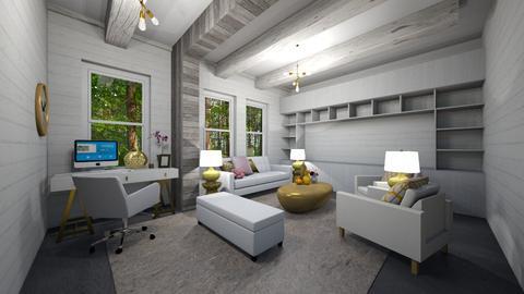 Split Living Room - Living room - by PenAndPaper