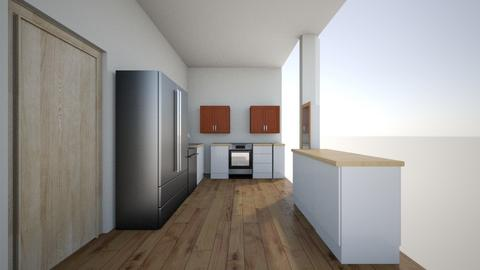 redesign with wall - Kitchen - by Rambo96