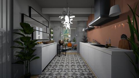 1 - Modern - Kitchen - by MiaM