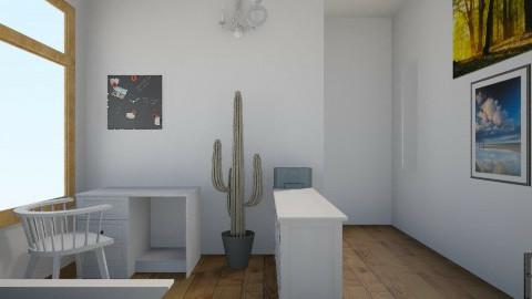 Alias room 2014 - Minimal - Bedroom - by Aliahamr