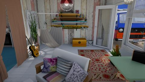 By the beach - Eclectic - Living room - by augustmoon