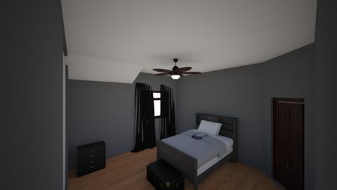 Bed - Bedroom - by AlyssaBa
