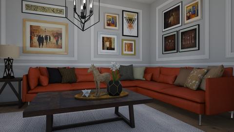Art - Living room - by Tuija