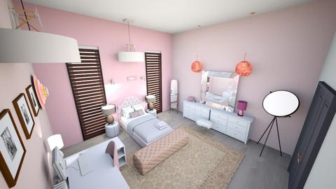 gloglolicouss interiors - Bedroom - by glodism