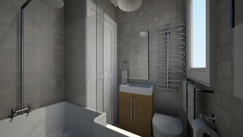 For vgnmail I - Eclectic - Bathroom - by Theadora