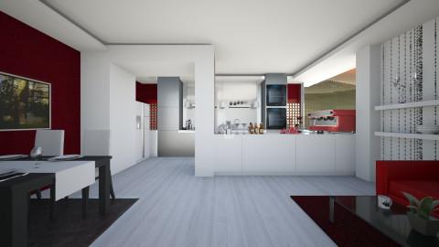 Dining_Kitchen - Modern - Kitchen - by Gre_Taa