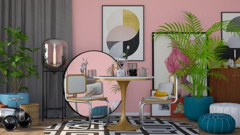 Modern space - Modern - Dining room - by HenkRetro1960