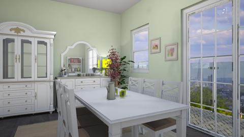 Spring green - Dining room - by CCPompey