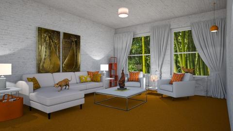 Orange Carpet - by LooseThreads