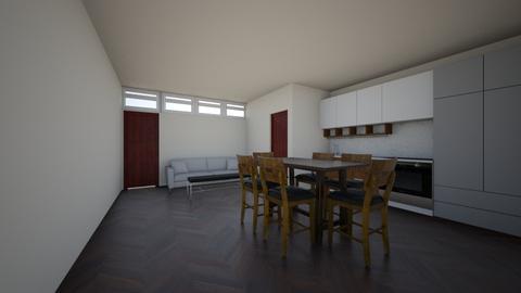 sala em container na lagoinha para tcc 2018 junho - Modern - Living room - by chicofon