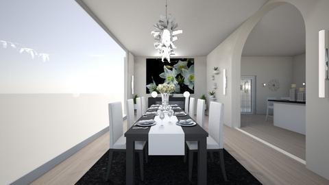 house d7 - Dining room - by nikolinajadanic