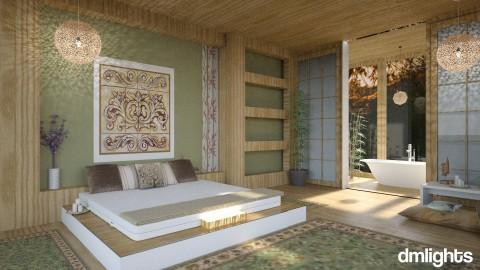 bed on floor - Bedroom - by rrogers45
