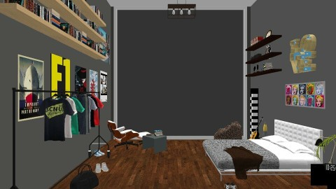 loft design  - by voguemay