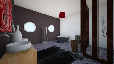 bathroom - by valcarona