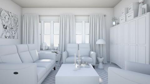 Plain - Minimal - Living room - by HenkRetro1960