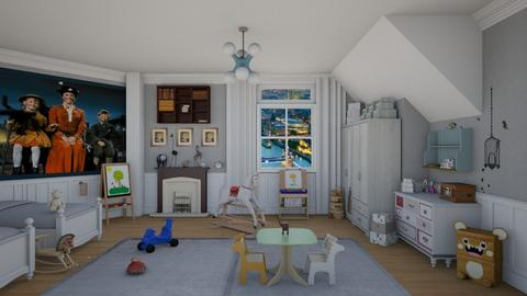Jane y Michael Banks - Classic - Kids room - by deleted_1524667005_Elena68