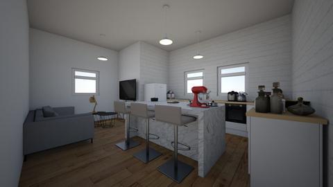 salon  kuchnia  jadalnia - Classic - Kitchen - by nikirox0