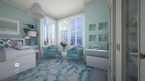 Ocean - Bedroom - by milyca8
