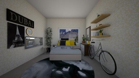 mountains - Glamour - Bedroom - by A N G E L