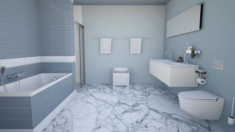 Bluish Bathroom - Modern - Bathroom - by Psweets