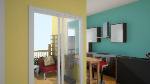 spark of Green 6 - Minimal - Living room - by herjantofarhan