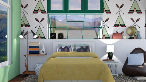 Travels - Modern - Bedroom - by Jessica Fox