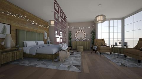 wood bedroom - Bedroom - by martinal2
