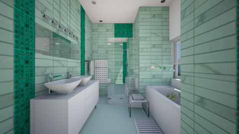 Small bathroom - Classic - Bathroom - by Sama Elhendy