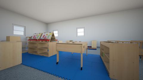 Preschool Classroom - Kids room - by KPZECVKXWNMTNPHFPKHYFBKUTZEBGNN